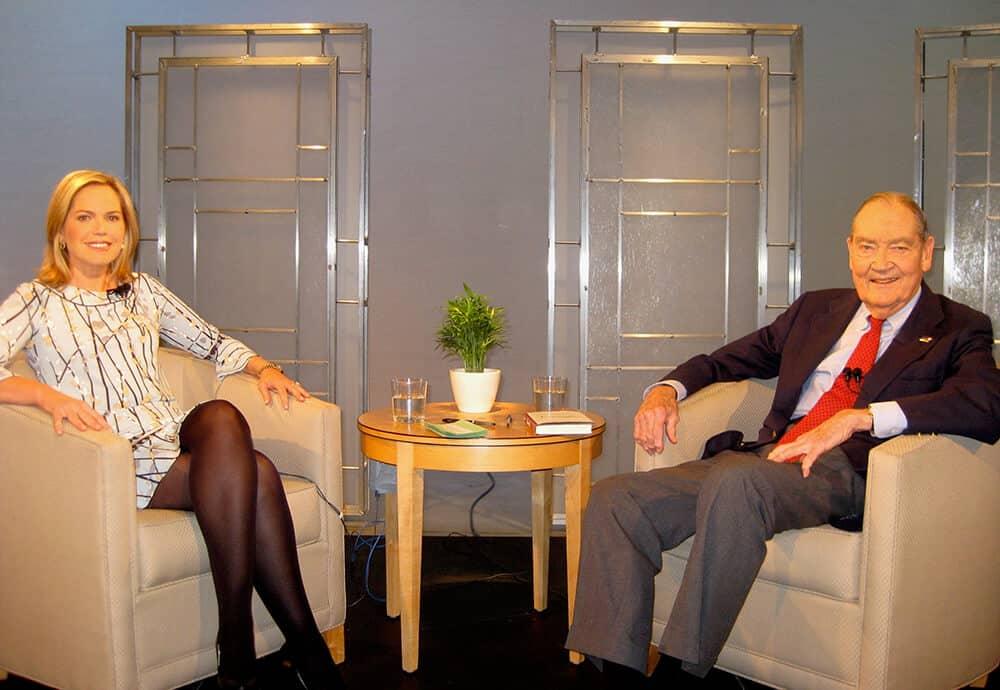 Pam Krueger with John Bogle